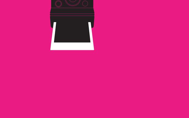 Polaroid Pink