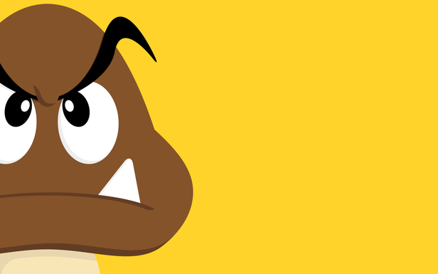 goomba doomba by justin page simple desktops