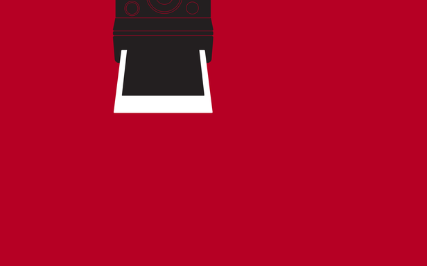 Polaroid Red