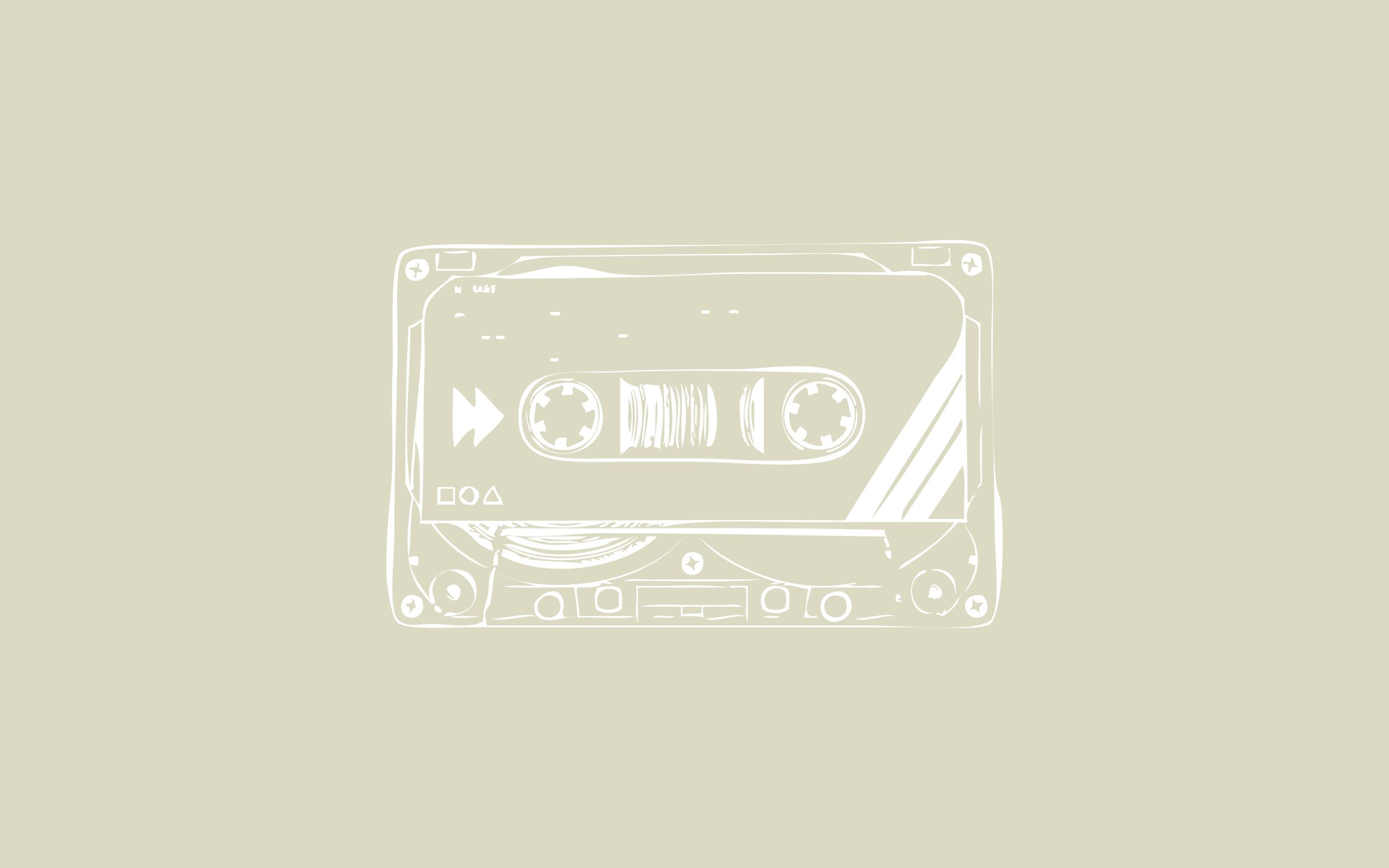 カセットテープ 壁紙 : オシャレでセンスある!可愛い!pcデスクトップ