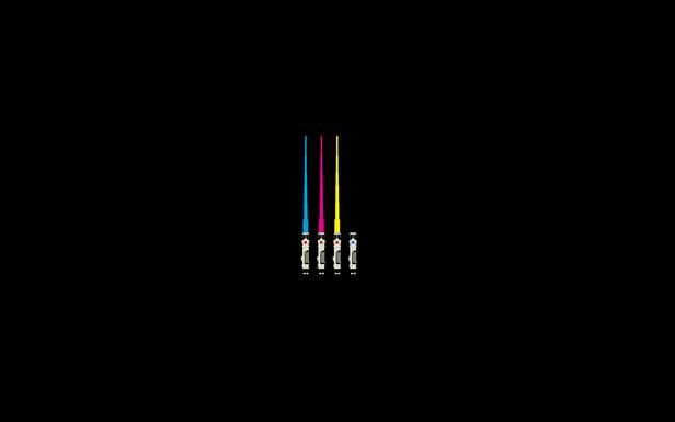 CMYK LightSabers