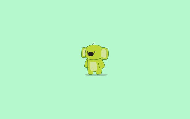 Kiwi the Green Koala