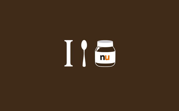 Spoon Wallpaper i Spoon Nutella