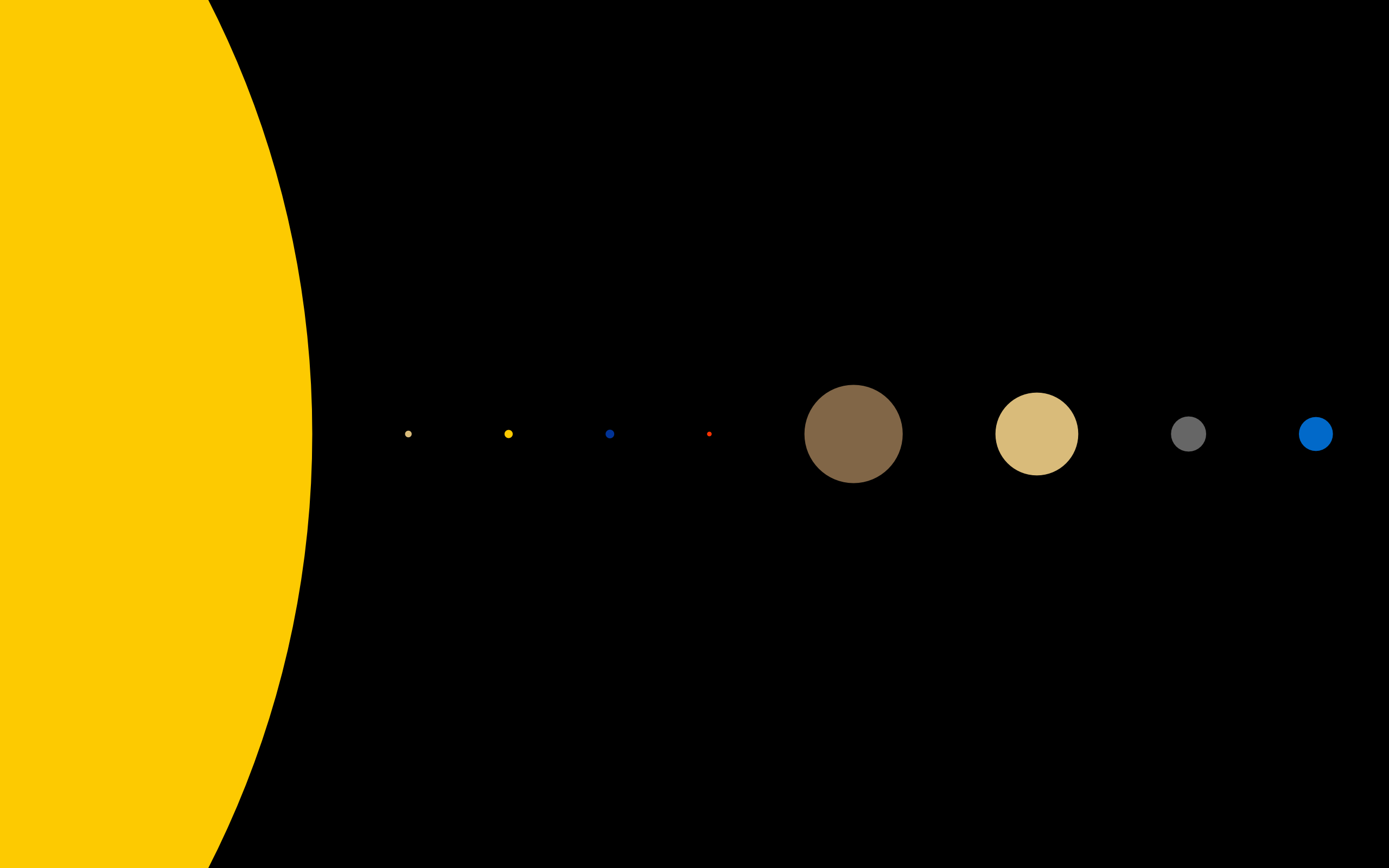Solar system by guillaume cabanel simple desktops solar system ccuart Choice Image