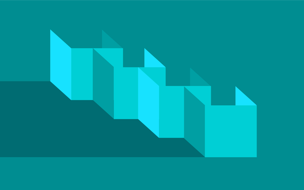 Boxes Teal