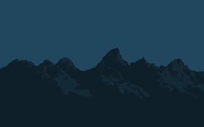 Tetons at Night