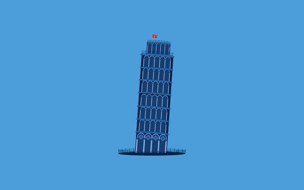 Blue Pisa