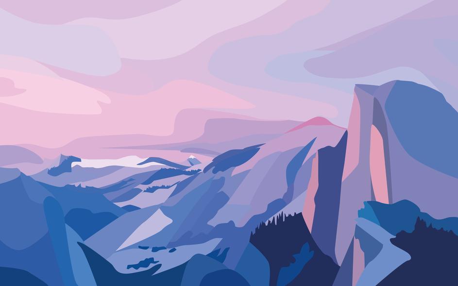 Yosemite Color Block