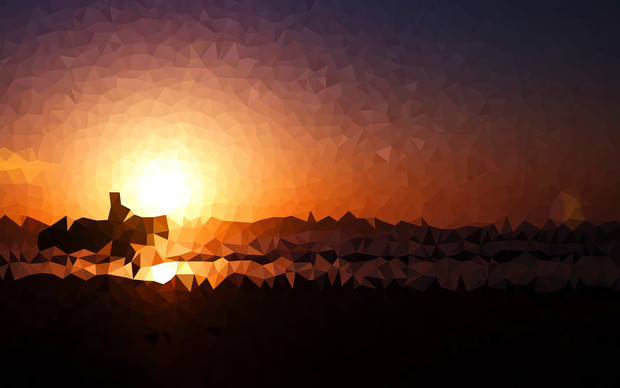 Triangle Sunset
