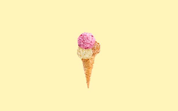 Low Poly Ice Cream